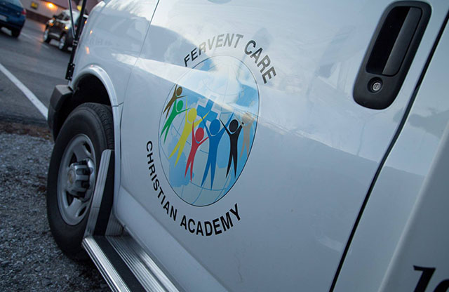 Fervent Care Christian Academy, Logo, PSV, Decal