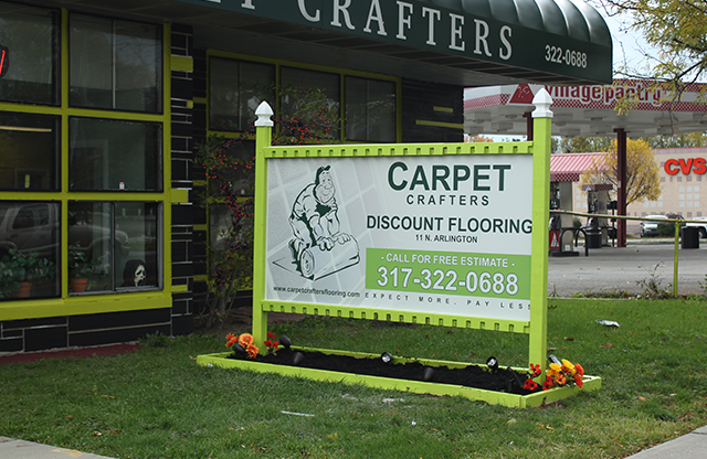 Carpet Crafters, signs, dibond, Indianapolis, IN
