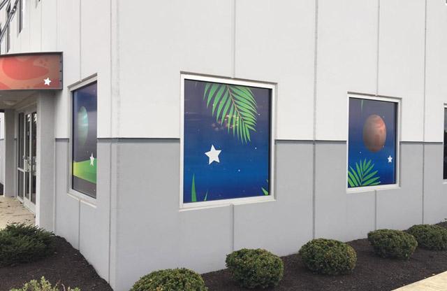 Kids Planet, Browns Burg, Window Perf, PSV