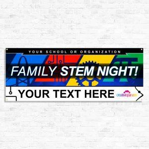 Stem Night Banner